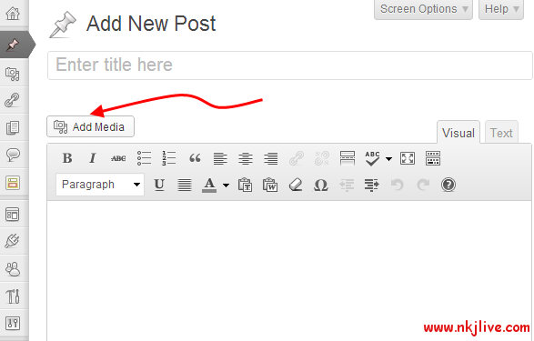 add-media-not-working-wordpress